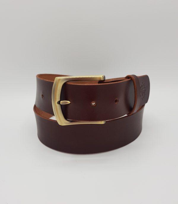 Ceinture cuir marron - So Buccinese