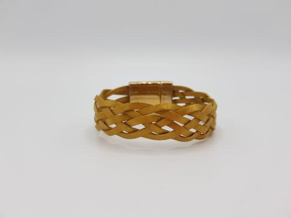 Bracelet Cuir Or - So Buccinese