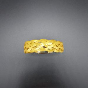 Bracelet tressé or - So Buccinese