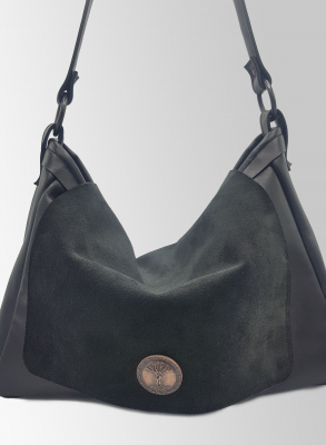 Grand sac cuir rabat - So Buccinese